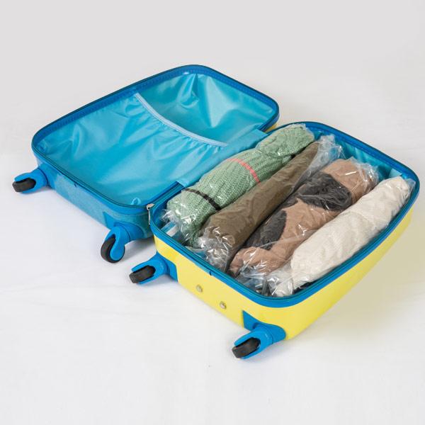 traveling vacuum bags